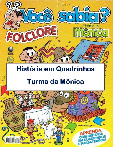 História em Quadrinhos sobre o Folclore