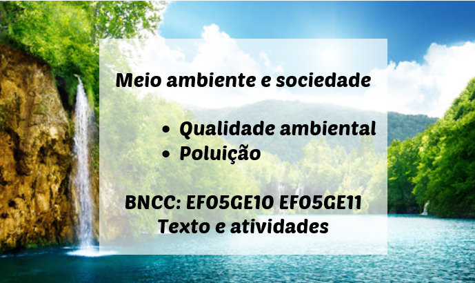 Bncc Meio Ambiente E Sociedade Ensinar Hoje
